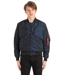 Alpha Industries | Шёлковая Куртка-Бомбер Ma-1 Lw Iridium