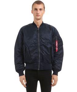 Alpha Industries | Двухсторонняя Куртка-Бомбер Ma-1 Оверсайз