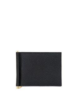 Thom Browne | Кошелёк Из Зернистой Кожи С Зажимом Для Банкнот