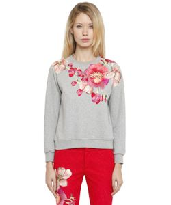 Ainea | Hand-Embroide Cotton Sweatshirt