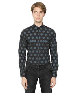 Dolce & Gabbana | Рубашка Из Хлопкового Поплин В Горошек
