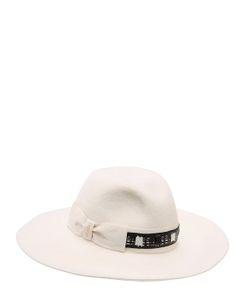 Borsalino | Велюровая Шляпа Sophie С Широкими Полями