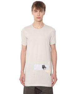 Rick Owens | Drkshddw Light Jersey T-Shirt W Patch