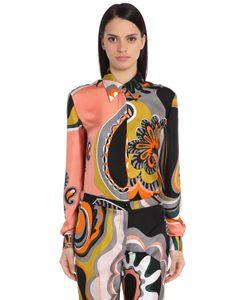 Emilio Pucci | Шёлковая Рубашка С Принтом