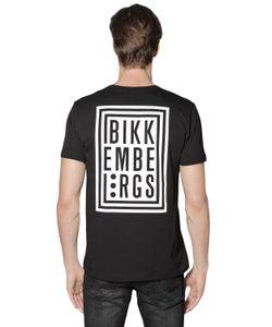 Bikkembergs | Logo Printed Cotton Jersey T-Shirt