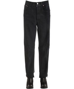 VETEMENTS | Reworked Row Cut Cotton Denim