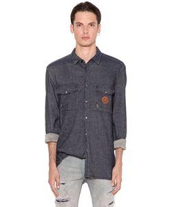 Love Moschino | Рубашка Из Деним С Логотипом