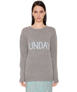 Alberta Ferretti | Sunday Wool Cashmere Knit Sweater
