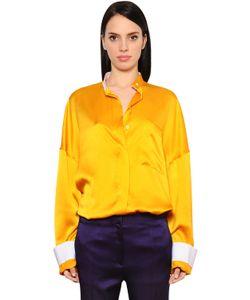 Haider Ackermann | Рубашка Из Шёлкового Атласа