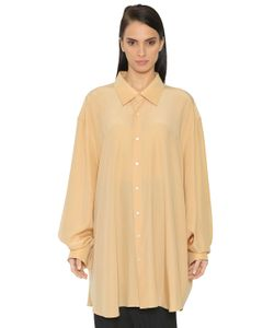 Jil Sander | Рубашка Из Шёлкового Крепдешина