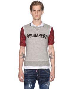 Dsquared2 | Рубашка-Поло Из Хлопка Пике С Панелями В Клетку