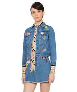 Marc Jacobs | Embellished Cotton Denim Jacket