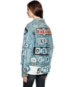 Faith Connexion | Ntmb Patched Cotton Denim Jacket