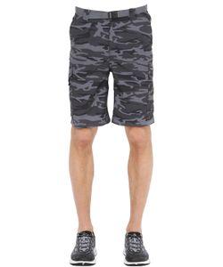 Columbia   Ridge Camo Printed Cargo Shorts