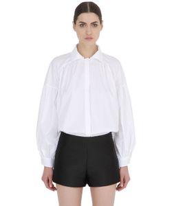 ACIEL | Рубашка Из Хлопкового Поплин С Высоким Воротом
