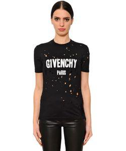 Givenchy | Футболка Из Джерси С Принтом