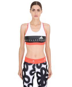 Adidas By Stella  Mccartney | Спортивный Бюстгальтер Из Микрофибры С Логотипом