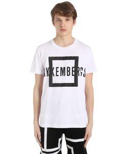 Bikkembergs | Футболка Из Хлопкового Джерси С Принтом Логотипа