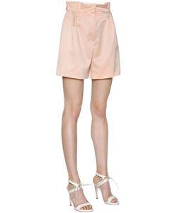 MAX MARA SHINE! | Ruffled Duchesse Shorts