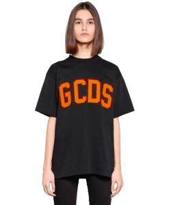 Gcds | Футболка Из Хлопкового Джерси С Логотипом