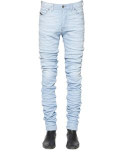 Diesel Black Gold | 16.5cm Extra Long Light Denim Jeans