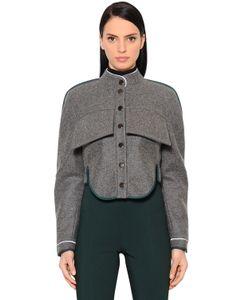 Antonio Berardi | Короткая Куртка Из Шерсти И Кашемира
