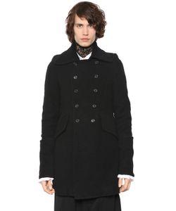 Ann Demeulemeester | Двубортное Пальто Из Двойной Шерсти