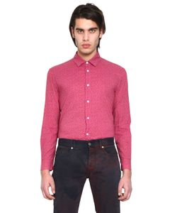 Marc Jacobs | Рубашка Из Хлопкового Поплин С Цветочным Принтом