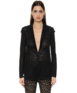Akris | Techno Georgette Lace Knit Jacket