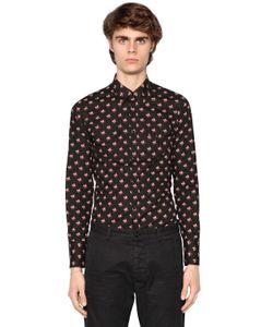Dsquared2 | Рубашка В Ковбойском Стиле Из Поплин С Принтом