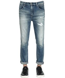 Calvin Klein Jeans | 17cm Destroyed Stone Washed Denim Jeans
