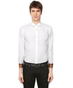 Burberry | Stretch Poplin Shirt W Check Details