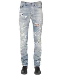 Diesel Black Gold | 17cm Destroyed Stretch Denim Jeans