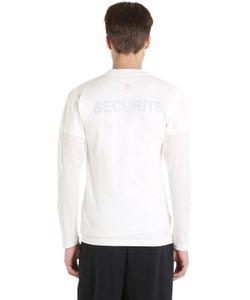 VETEMENTS | Футболка Hanes Securite Из Джерси