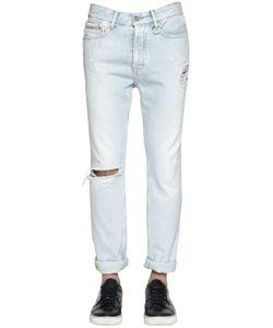 Calvin Klein Jeans | 17cm Destroyed Bleached Denim Jeans