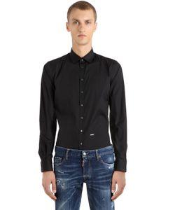 Dsquared2 | Рубашка Из Стретч Поплин