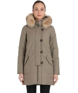 Peuterey | Jambaz Hooded Down Parka With Fur Trim