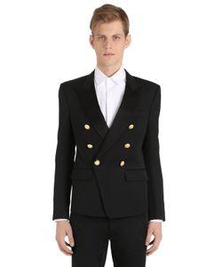 Balmain | Double Breasted Wool Jacket