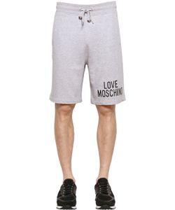 Love Moschino | Хлопковые Шорты С 3d Логотипом