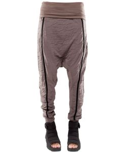 DEMOBAZA | Baggy Resin Cotton Jersey Pants