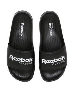 Reebok Classics | Шлёпанцы Из Искусственной Кожи С Логотипом