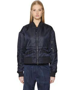Diesel Black Gold | Короткая Куртка-Бомбер Из Нейлона