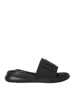 DKNY | 30mm Rebecca Logo Rubber Slide Sandals