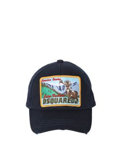 Dsquared2 | Бейсбольная Кепка Из Канвас