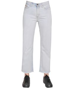 Calvin Klein Jeans | High Rise Straight Cropped Cotton Denim