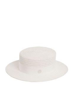 Maison Michel | Соломенная Шляпа-Канотье Kiki