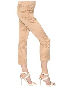 MAX MARA SHINE! | Cropped Satin Pants