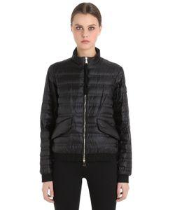 Moncler   Куртка-Бомбер Violette Из Стёганого Нейлона