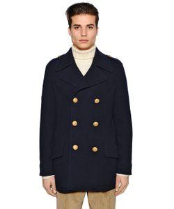 Lardini | Пальто Из Полушерстяного Трикотажа
