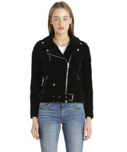 ROUTE DES GARDEN | Velvet Biker Jacket